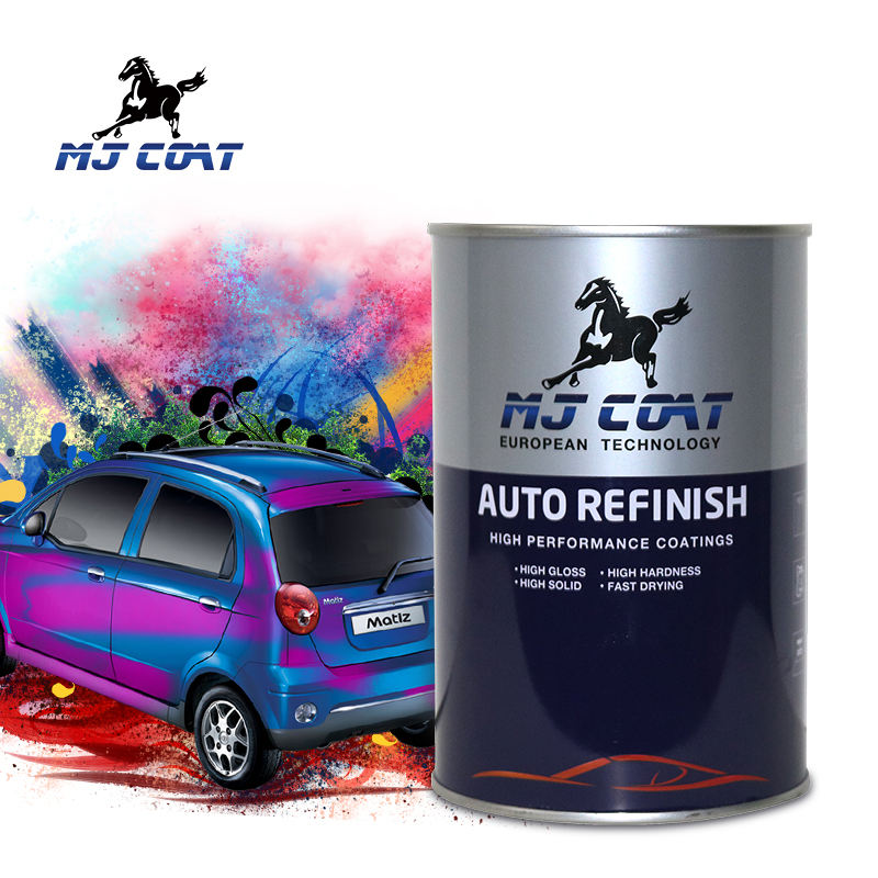 MJ COAT Brand Strong resilience performance car 2k top color paint