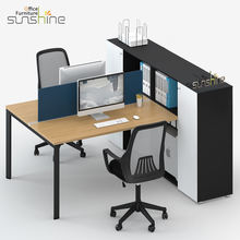 2018 Latest office furniture design staff tables, clerk desks, work office workstation