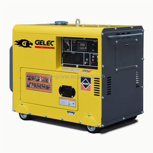 Small portable diesel marine generator 5kw 6kw 10kw 12kw single phase