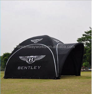 Promotional inflatable canopy tent, inflatable marquee tent for advertising