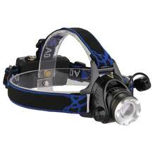 18650 battery Rechargeable Waterproof led Head Flashlight Lamp 1000LM headlamp headlight with great price