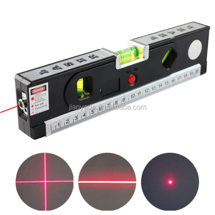 4 in 1 Laser Level Aligner Vertical Horizontal Lasers