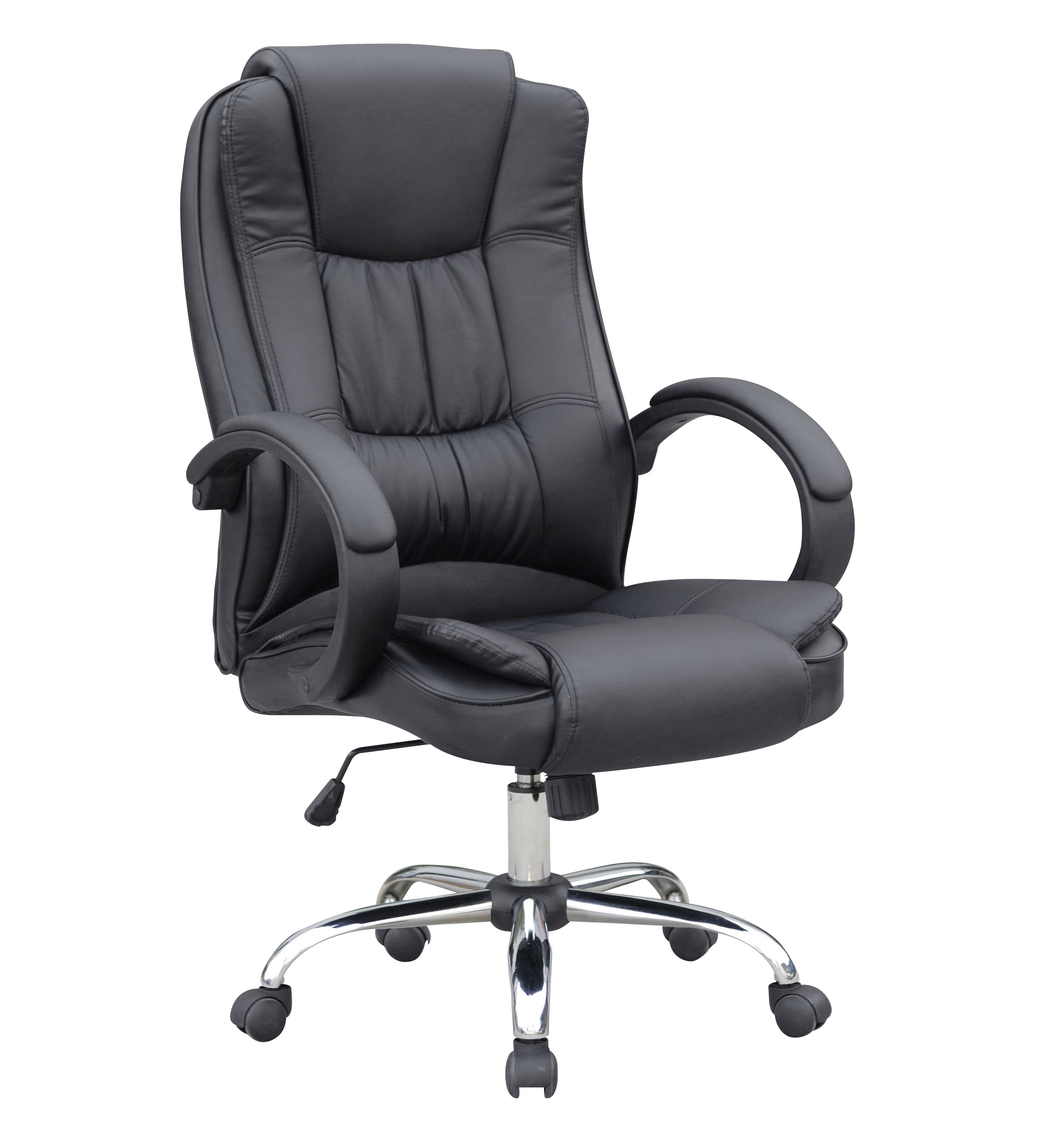 Leather Office Chair Executive High Back PU Manager Office Chair