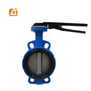 Wafer center line ductile iron butterfly valve