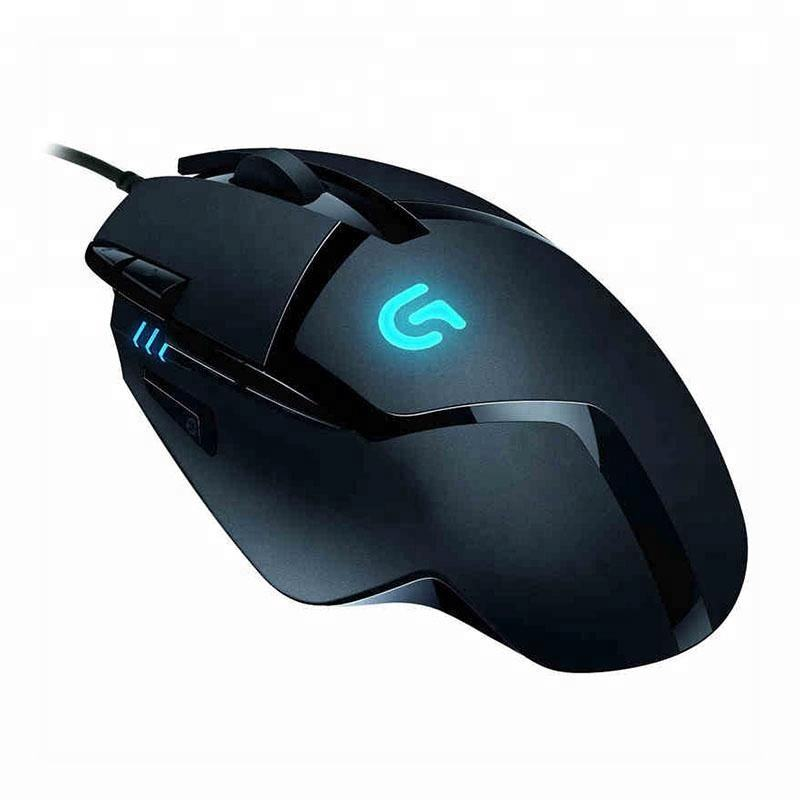High Speed New Logitech G402 Hyperion Fury FPS Tunable Laser Logitech Gaming mouse USB Wired 4000 DPI Mouse Gamer mice