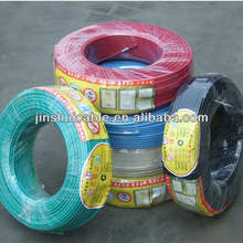 HENAN JINSHUI Copper/PVC insulated electrical wires 450/750V