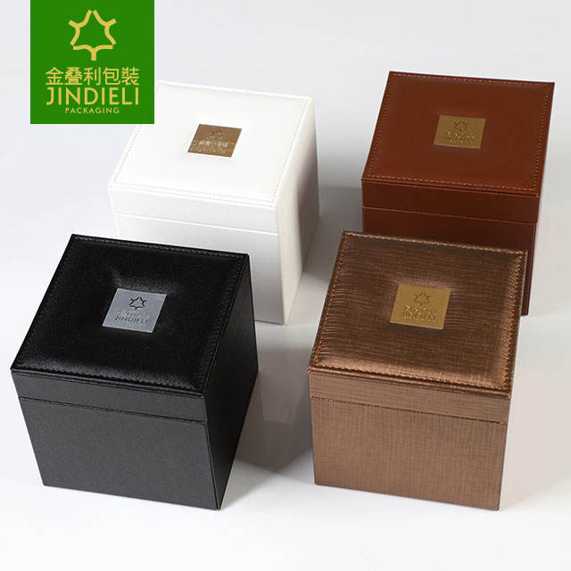 leather packaging box for perfume bottles