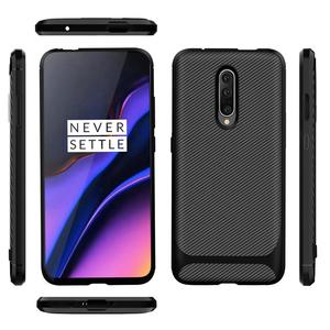 Wholesale price carbon fiber cover soft tpu phone case for Oneplus 7 pro protective case