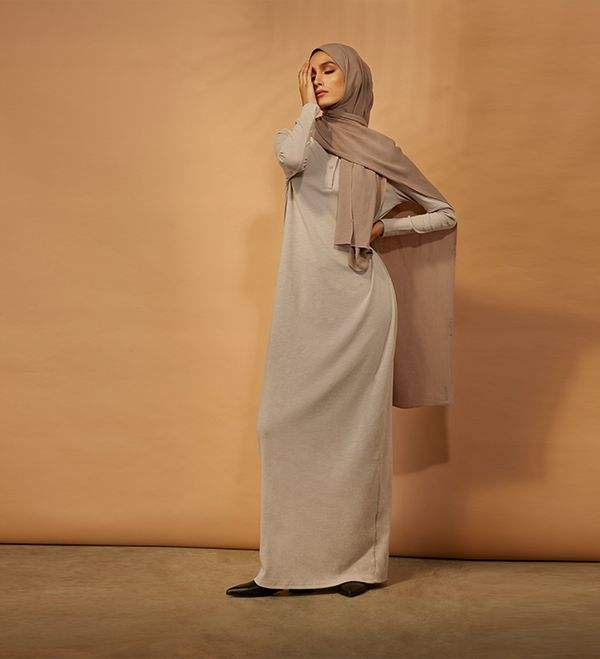 Top Selling High Quality Muslim Women's Middle East Dress Plain Color Muslim Robes Womens