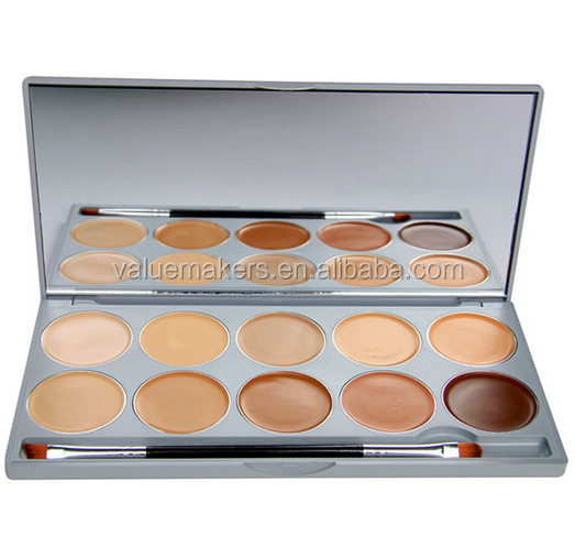 Makeup foundation palette,contour palette private label,makeup mixing palette