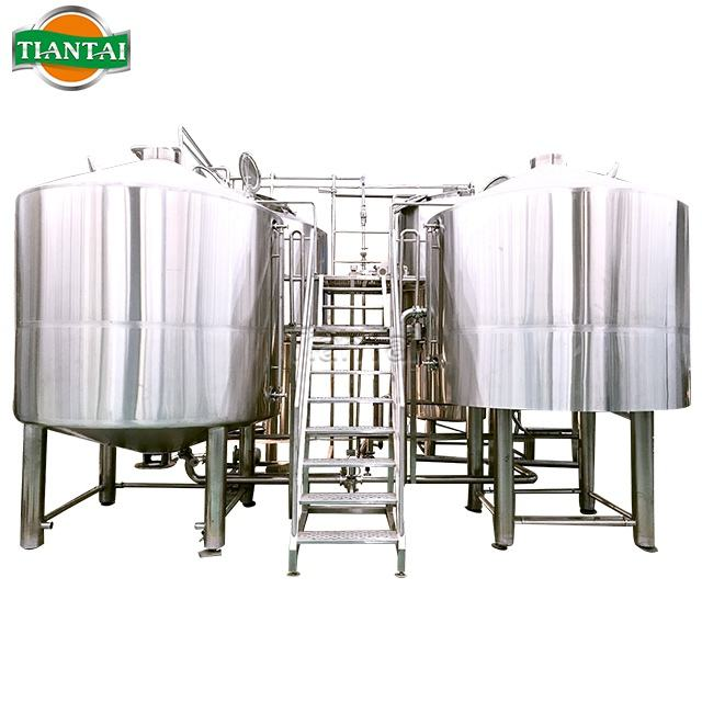 Brewing Manufacturers Beer Brewing 1000L-2000L Mash System Turnkey Project For Craft Beer Making