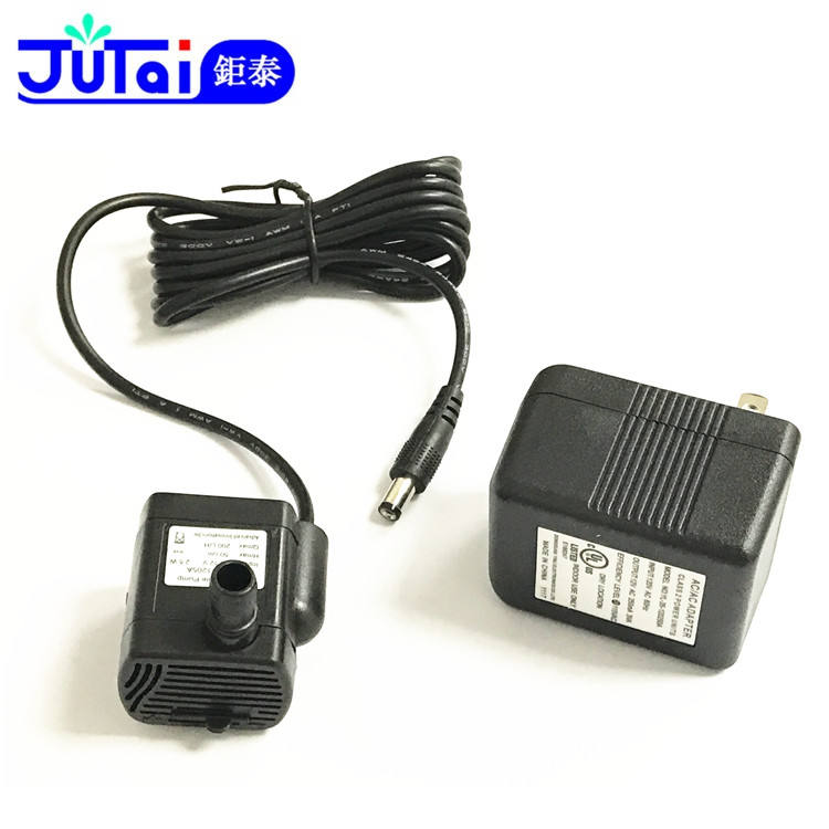 High Quality Black 12V Mini Pet Drinking Water Submersible Pump Aquarium with Adaptor