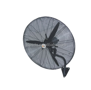 30 Inch Powerful Metallic Two Blades Industrial Wall Hanging Fan
