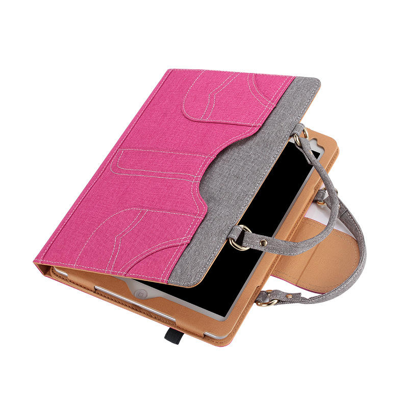 New Cowboy Tablet Enclosure Stand Tablet Cover Portable Woman Laptop Sleeve For iPad Case