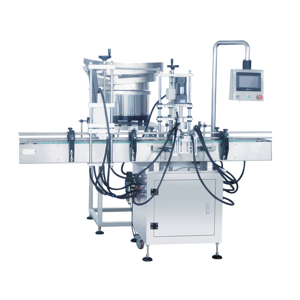 Lianyuan-X1 Automatic Linear type Bottle Capping Machine For Plastic