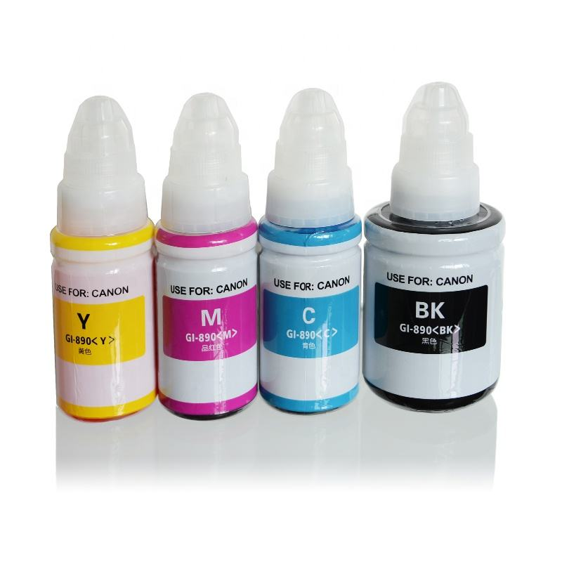 Refill bottle ink tank GI-790 Dye ink Compatible Canon PIXMA G2002 G3000 Refill ciss ink