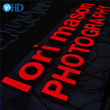 3D led letter sign advertising led light word trimless led channel letters for outdoor sign