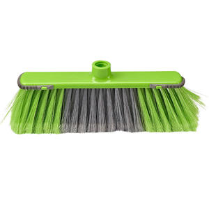 Green Quality-Assured Plastic Household Kitchen Super Broom Head