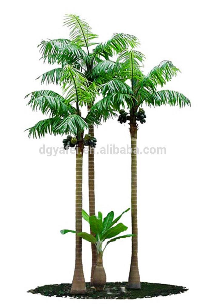 2-15 Meter dekorative künstliche kokospalme, künstliche kokospalme, gefälschten palme, dekorative baum