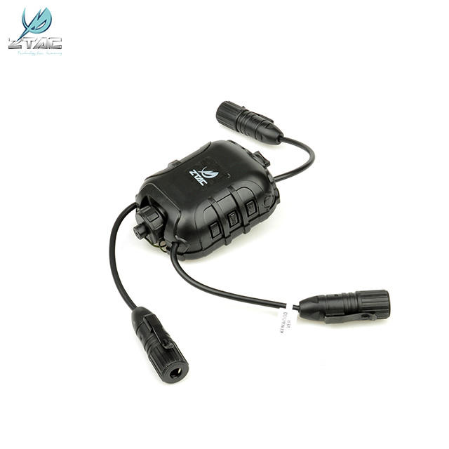 Z118 Elemento soft Air tactical headset dual ptt connect radio