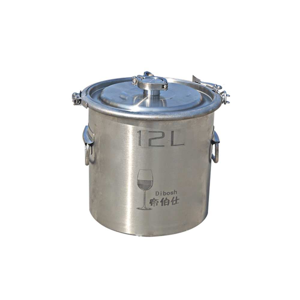 12L Home Tea Brewing Machine, Tea Extraction Tank, Metal Bucket