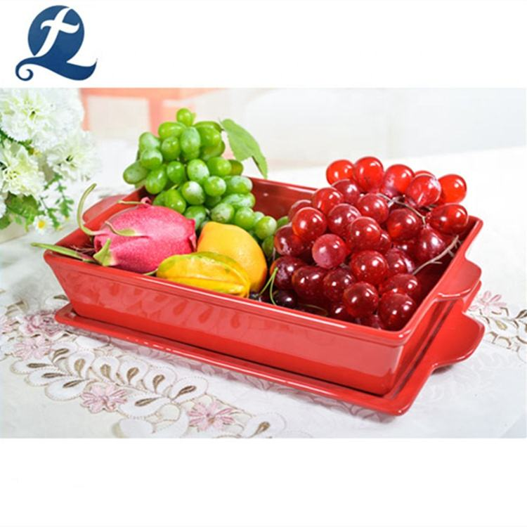 Custom Heat Resistant Oven Safe Ceramic Color Bakeware Set