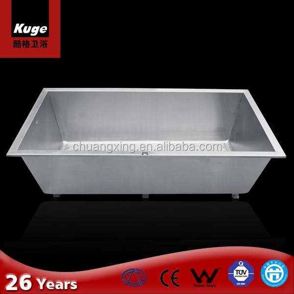 Bathroom designs hot tub,304 Stainless Steel massage bathtub