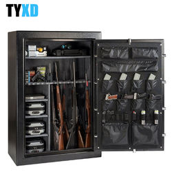 High quality cold rolled steel factory direct sale high security  gun safe