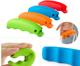 Promotion Colors Silicone Shopping Bag Carrier Grocery Holder Handle