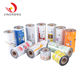 China Metalized Food Grade Plastic Packing pet pe laminated Film Roll