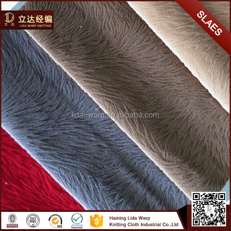 Sıcak Satış 100% Polyester Döşeme Türleri Ile Tc Destek Burn Out Kanepe Kumaş
