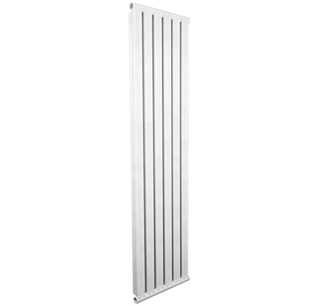 Double metal double channel steel aluminum composite column type radiator