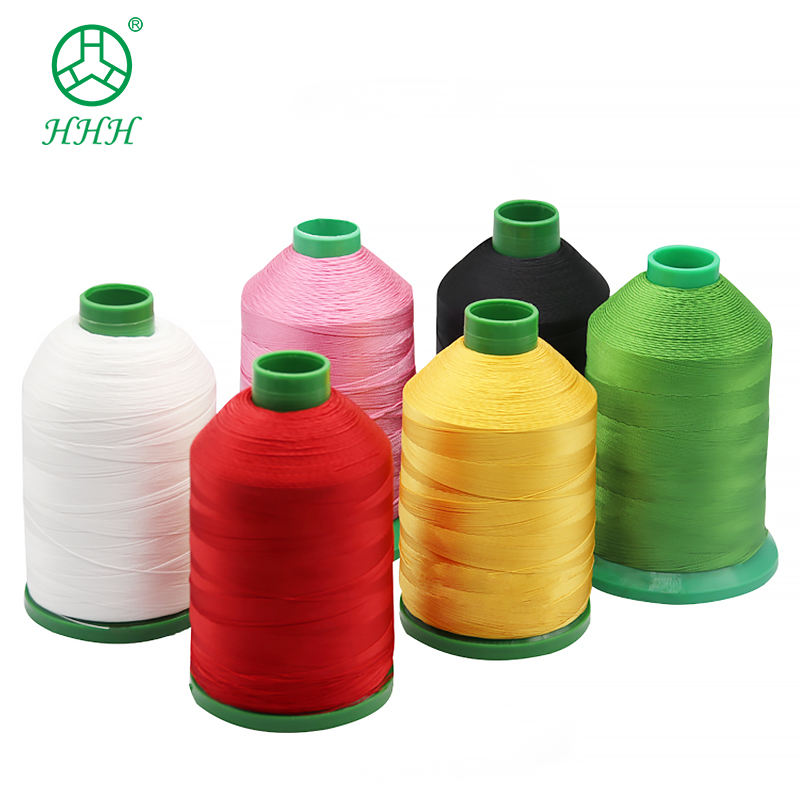 210D Polyethylene Staple Fiber Sewing Polyester Mark Thread For Sofas Sports Equipment Tag Printing product