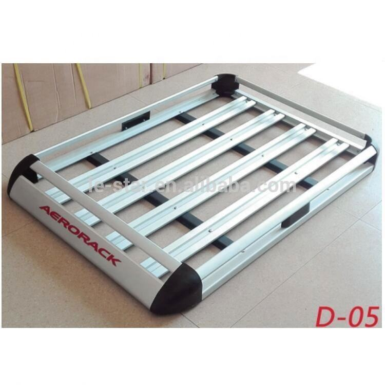 Universal luggage car roof rack 4x4 aluminum roof rack
