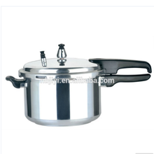 aluminium polished pressure cooker 9L