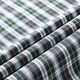 Fashion design yarn dyed custom woven shirt textile cloth printed 100% cotton fabric