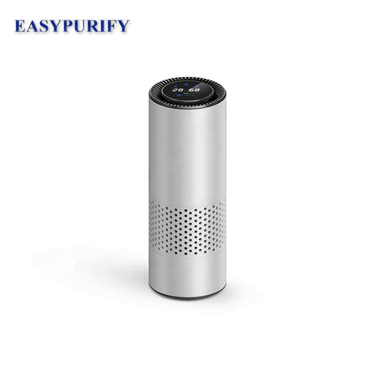 Car air purifier ionizer produce high concentration of negative ion oxygen