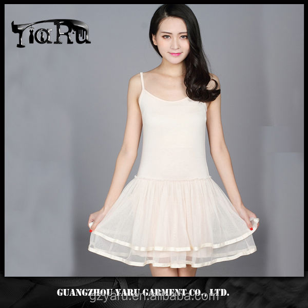 women double layered tunic dress summer new design 2017 OEM/ODM guangzhou manufacturer