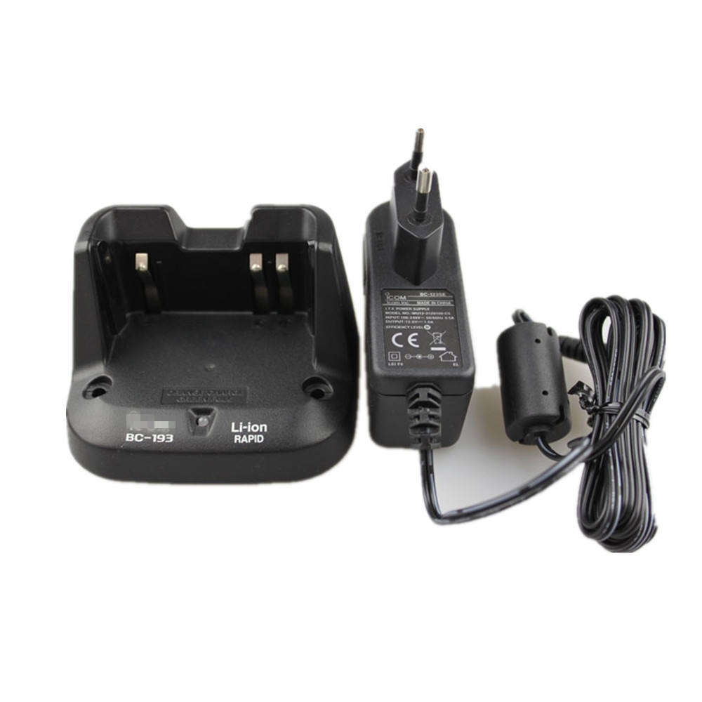 BP-193 universal smart li-ion charger walkie talkie charger FOR ICOM V80 V80E two way radio charger