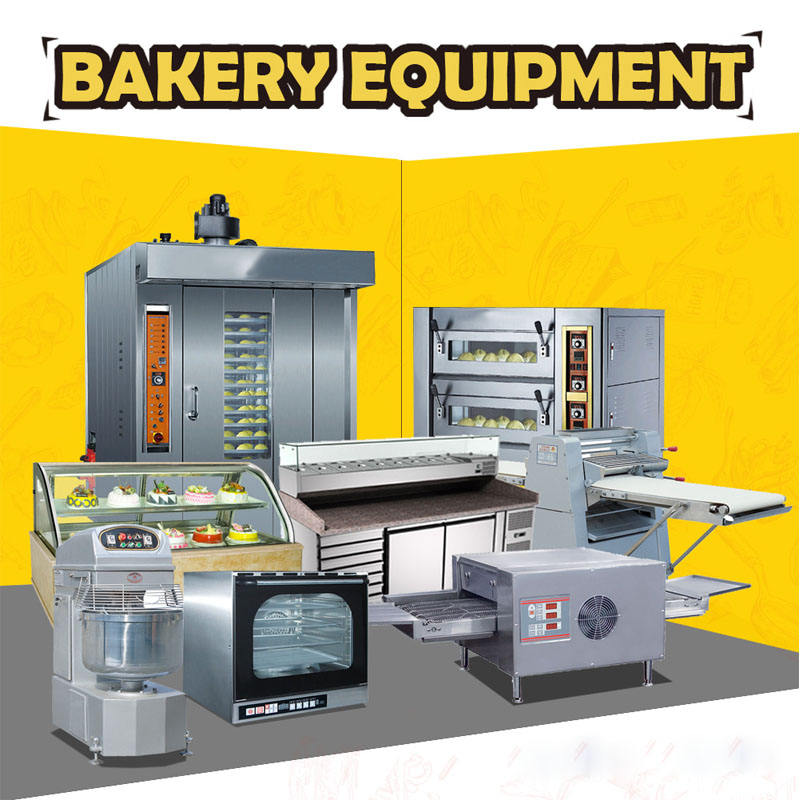 China Industrial Full Set Bread/Cake/Bakery Baking Equipment Oven With CE Approval (All you need for your bakery)