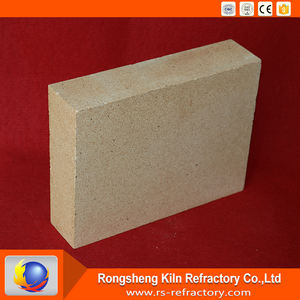 Factory Supply Standard size high temperature refractory fireclay brick for pizza oven