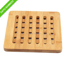 Cheap Kitchenware Bamboo Heat Insulation Pad for Table Dish Pan Pot