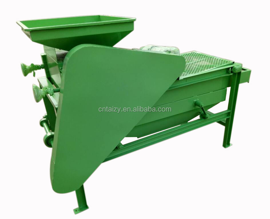 Low price Hot sell almond sheller processing machine nuts shell broken machine