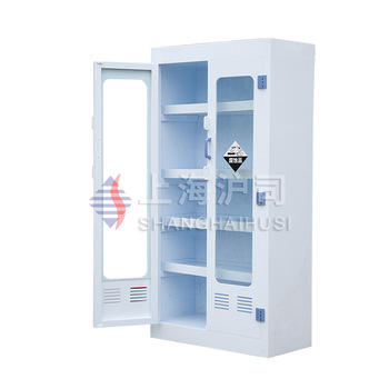 High quality lab multi-layer filtered plastic pp glassware cupboard and flask beaker storage cabinet