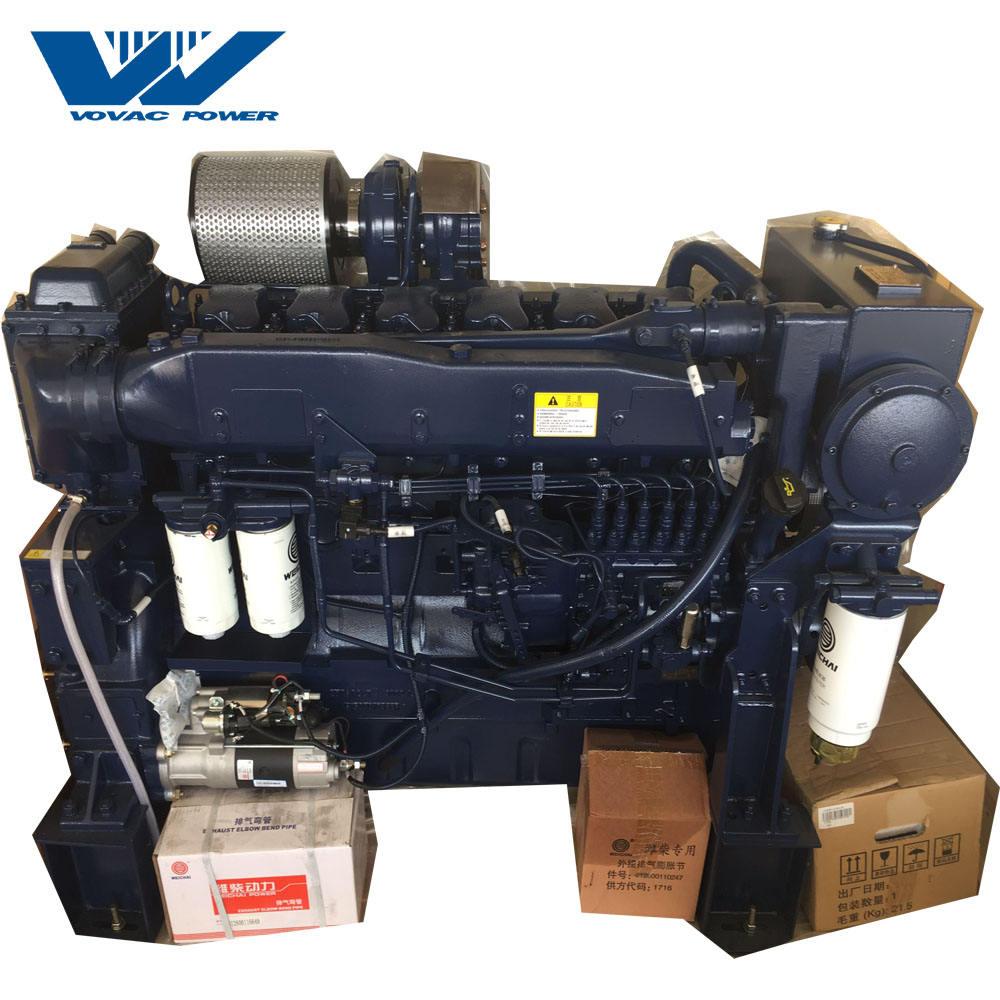Hot Sale High Speed 2500rpm 250hp Weichai Motor Boat Engine