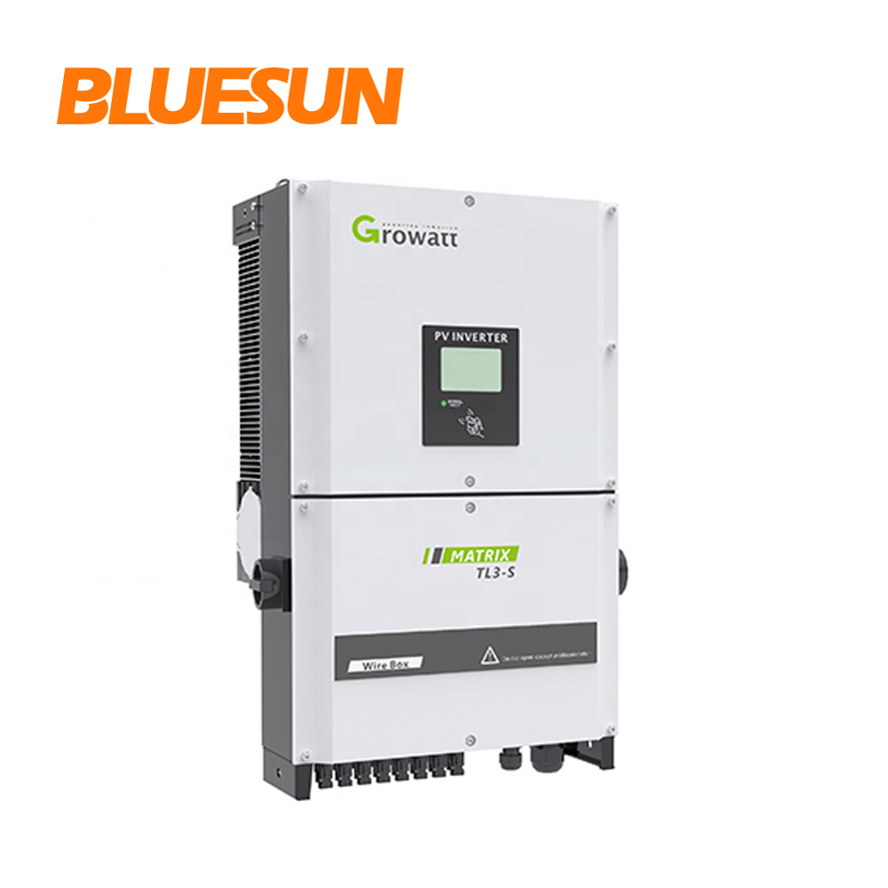 Growatt three phase solar power inverters 20kva 20kw 30kw 40kw on grid inverter dc ac 50 50kva kw solar inverter price