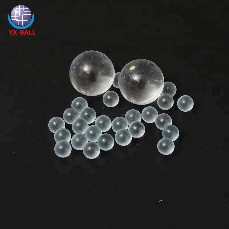 High precise 4mm5mm6mm 8mm 9.525mm 10mm 12mm 16mm 20mm 25mm clear glass ball