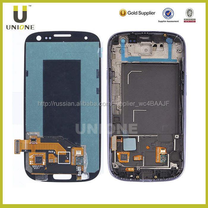 Мобильный телефон жк сенсорный экран для Samsung Galaxy S3 i9300, Для Samsung Galaxy S3 I9300 жк сенсорный экран планшета