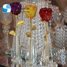 Wholesale wedding favor Crystal Rose wedding gift for guests