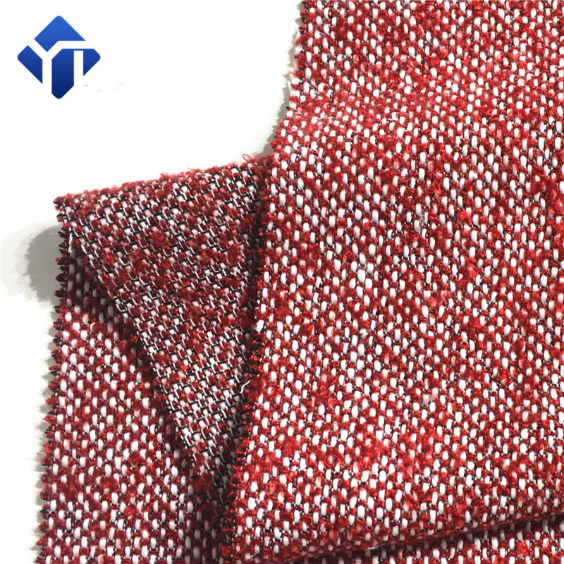 Blended wool woven acrylic fabric for girls garment